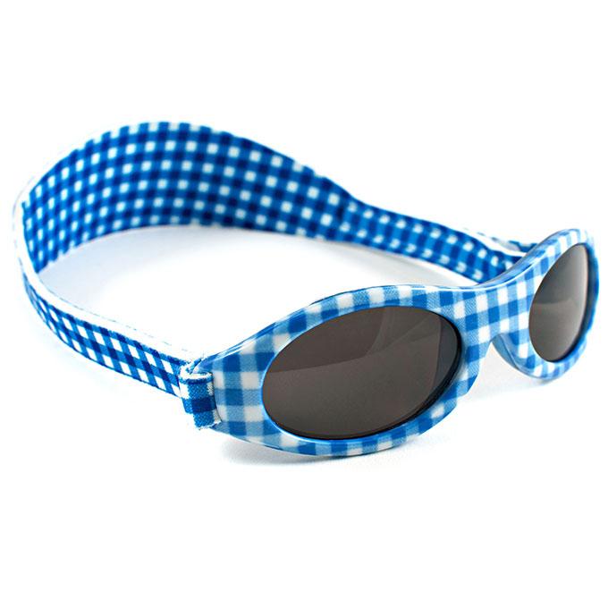 Afbeelding van KidzBanz Zonnebril (2-5 jaar) Blue Checkers