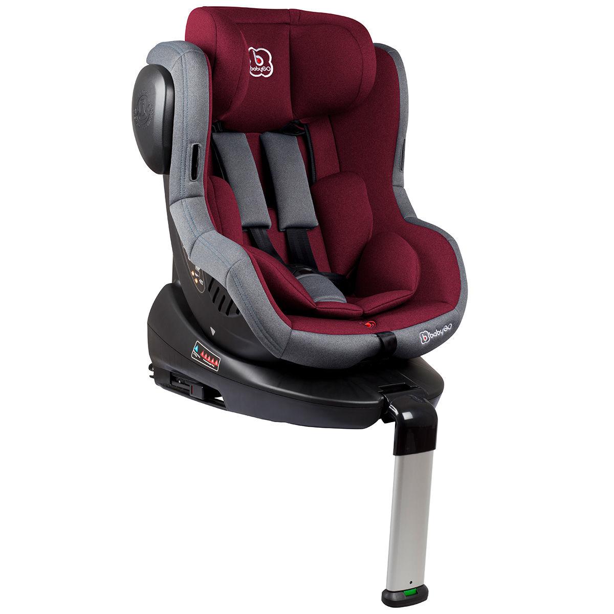 Afbeelding van Autostoel BabyGO Iso 360 met Isofix Rood (0-18kg)