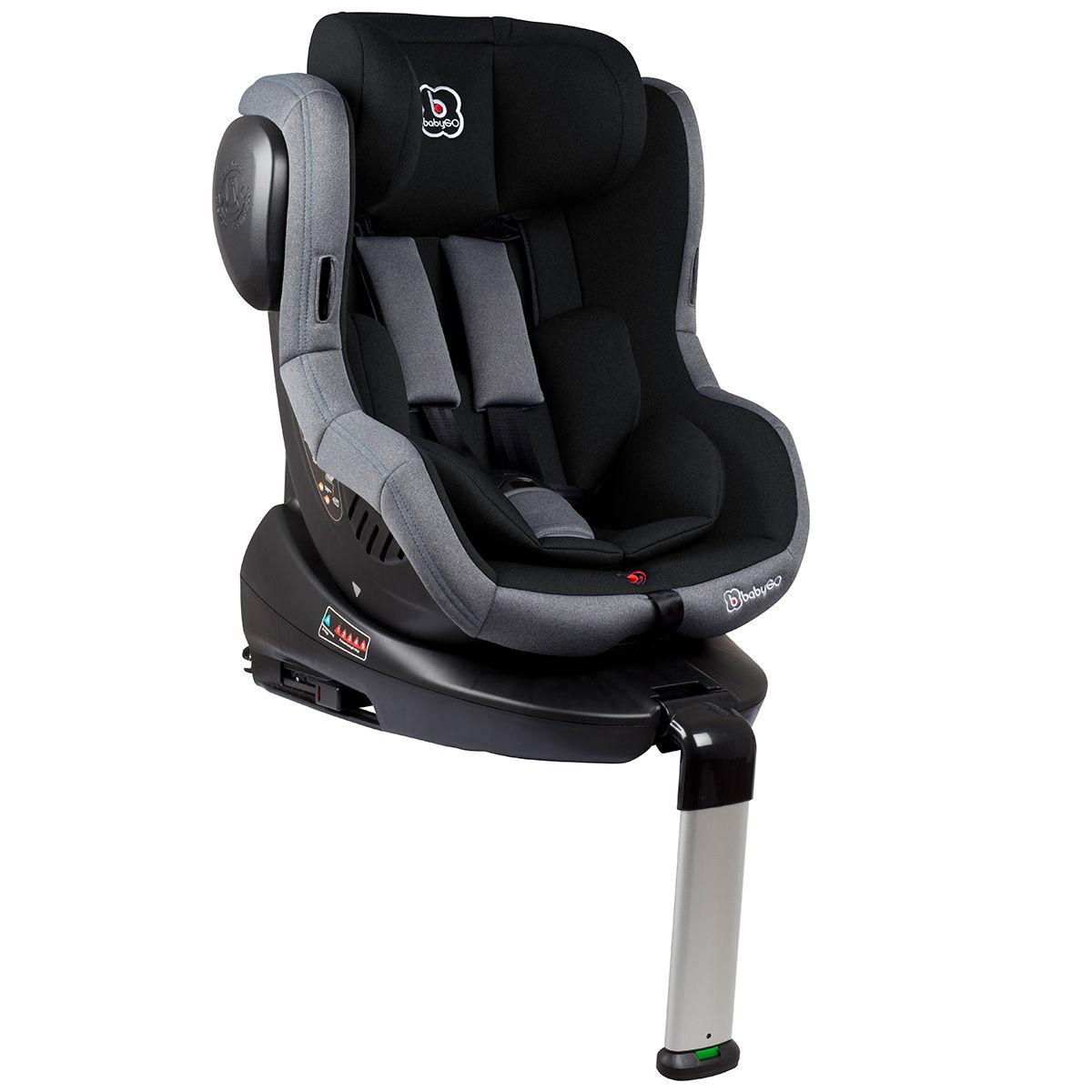 Afbeelding van Autostoel BabyGO Iso 360 met Isofix Zwart (0-18kg)