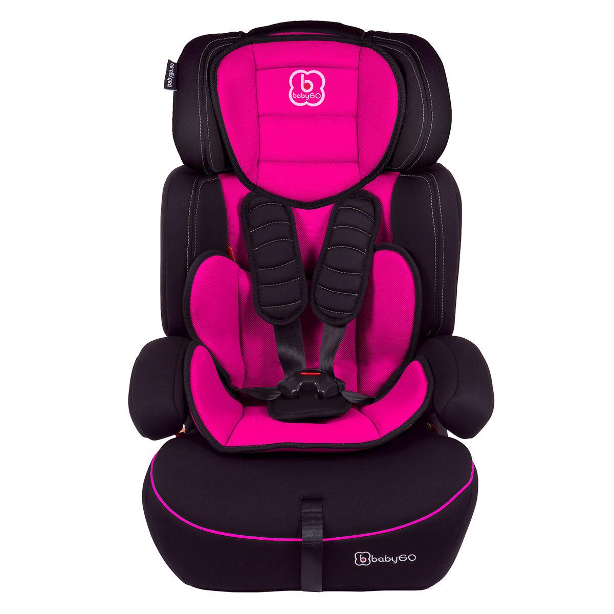 Afbeelding van Autostoel BabyGO FreeMove SP Pink (9-36kg) (310-6)