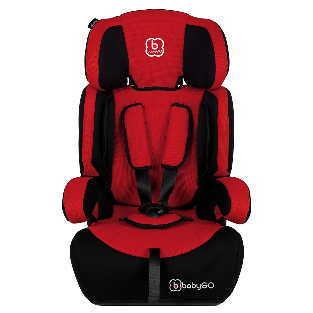 Afbeelding van Autostoel BabyGO Motion SP Rood (9-36kg)