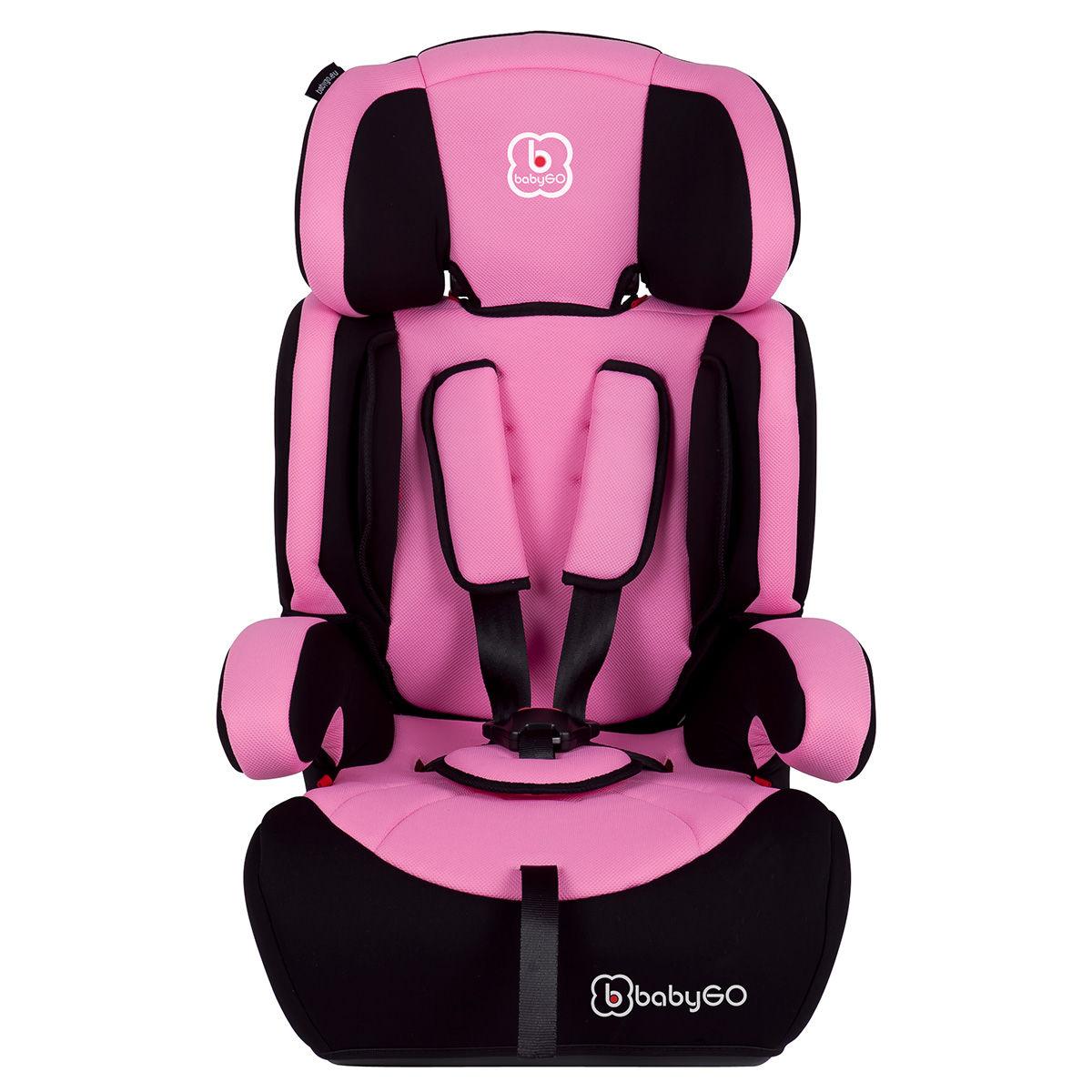 Afbeelding van Autostoel BabyGO Motion SP Pink (9-36kg)