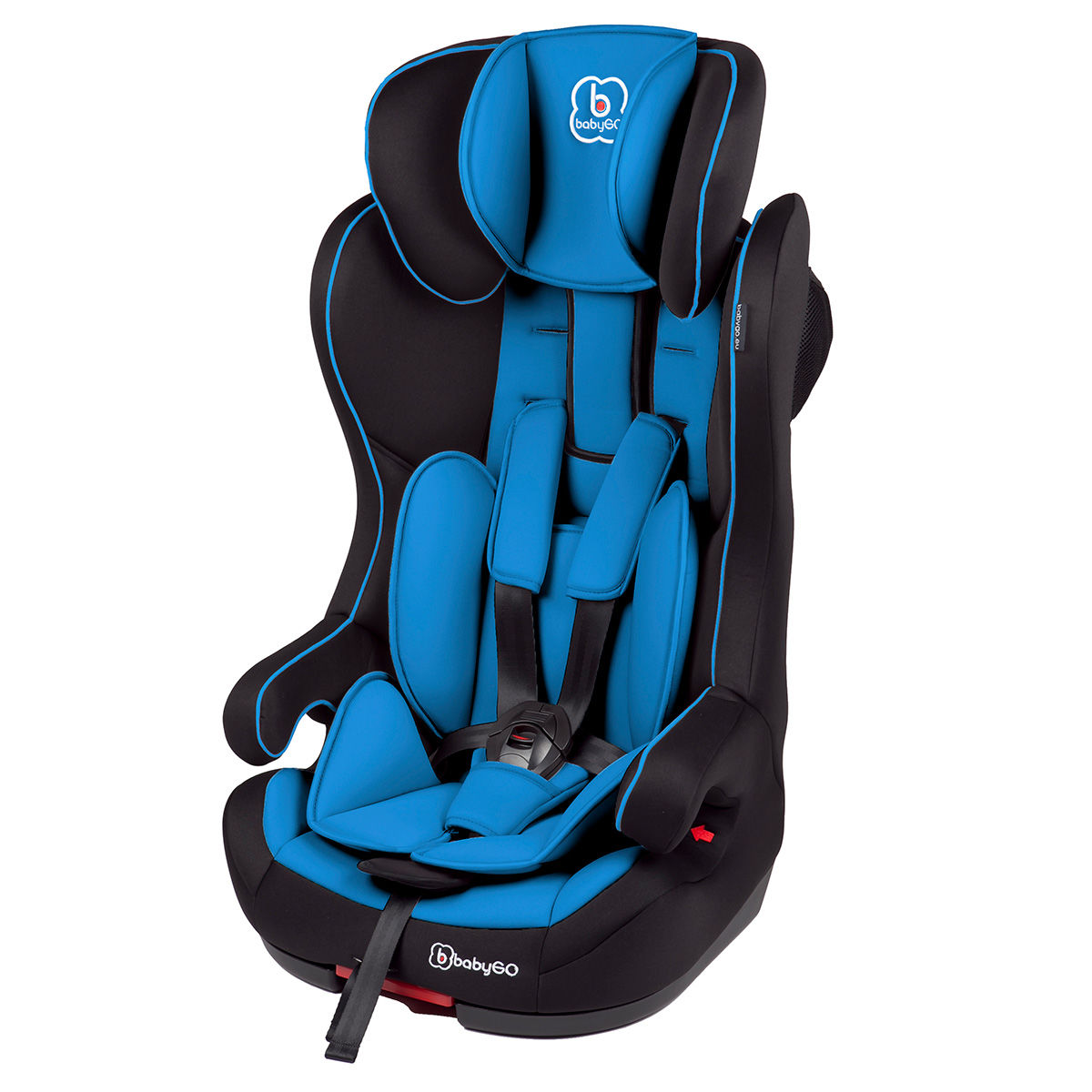 Afbeelding van Autostoel BabyGO IsoFix Blauw (9-36kg) (370-2)