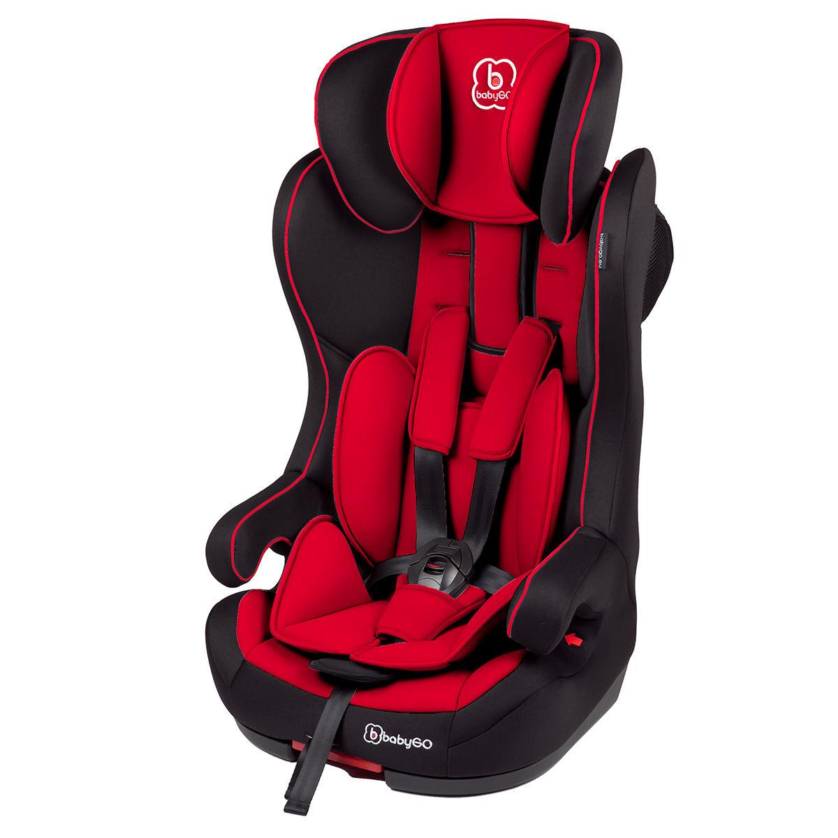 Afbeelding van Autostoel BabyGO IsoFix Rood (9-36kg) (370-3)