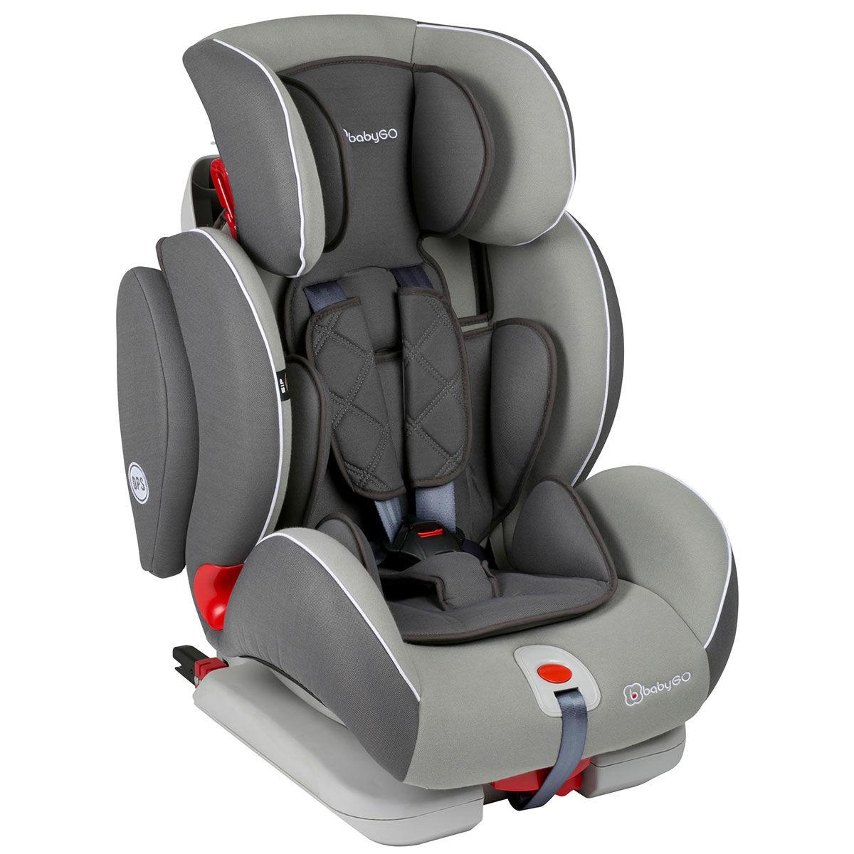 Afbeelding van Autostoel BabyGO Sira IsoFix Grijs (9-36kg)