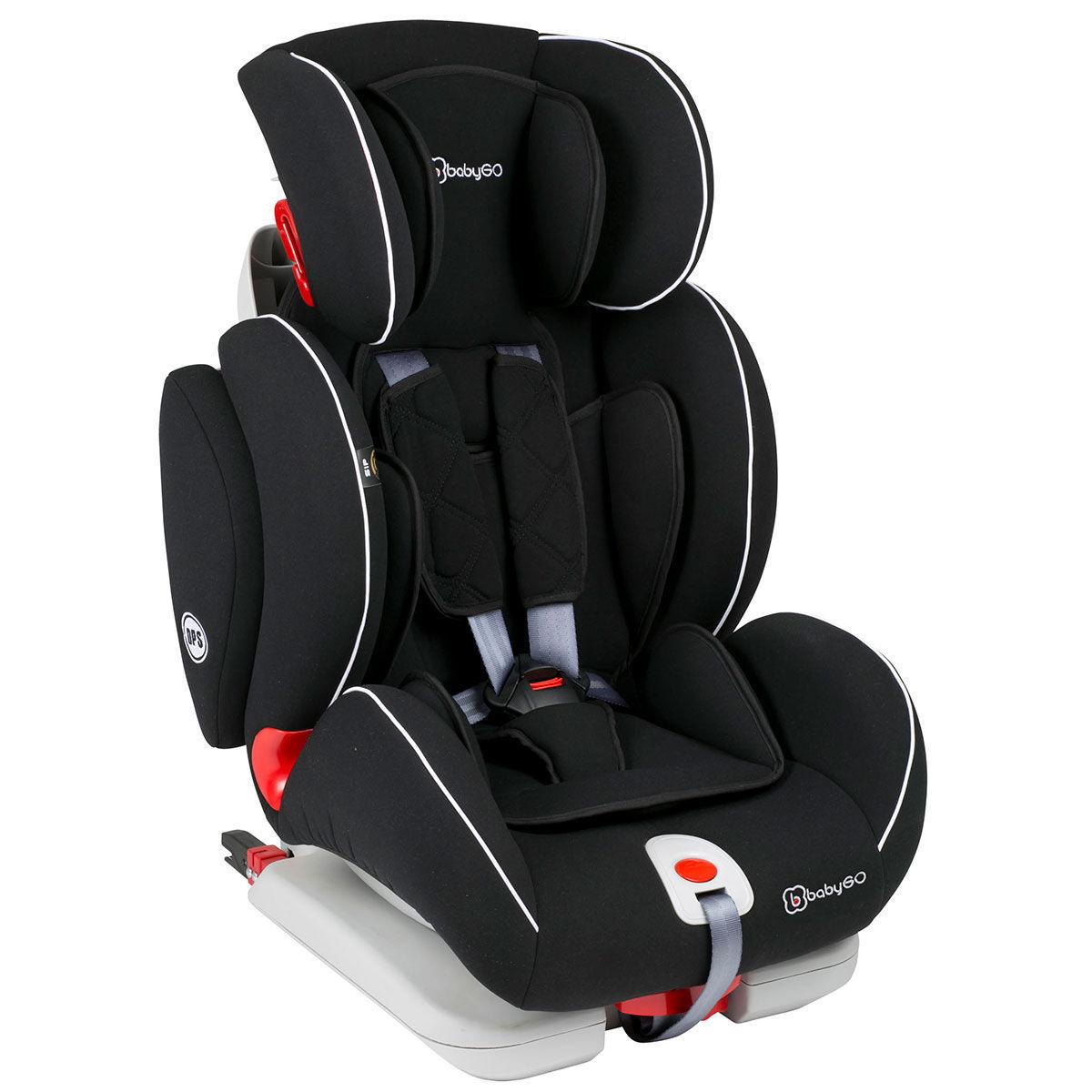 Afbeelding van Autostoel BabyGO Sira IsoFix Zwart (9-36kg)