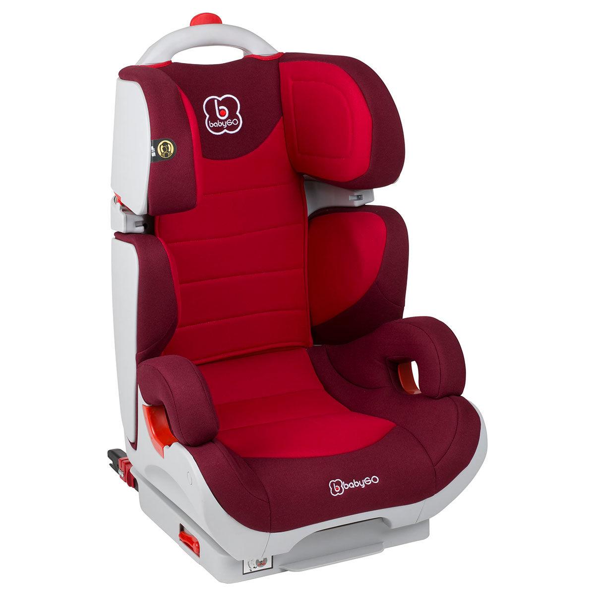 Afbeelding van Autostoel BabyGO Wega IsoFix Bordeaux (15-36kg)