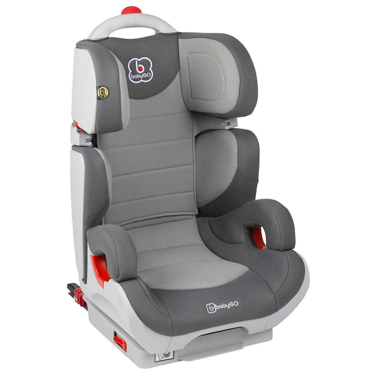 Afbeelding van Autostoel BabyGO Wega IsoFix Grijs (15-36kg)