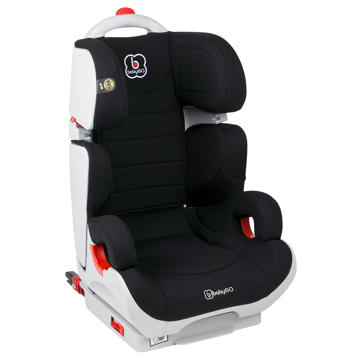 Afbeelding van Autostoel BabyGO Wega IsoFix Zwart (15-36kg)