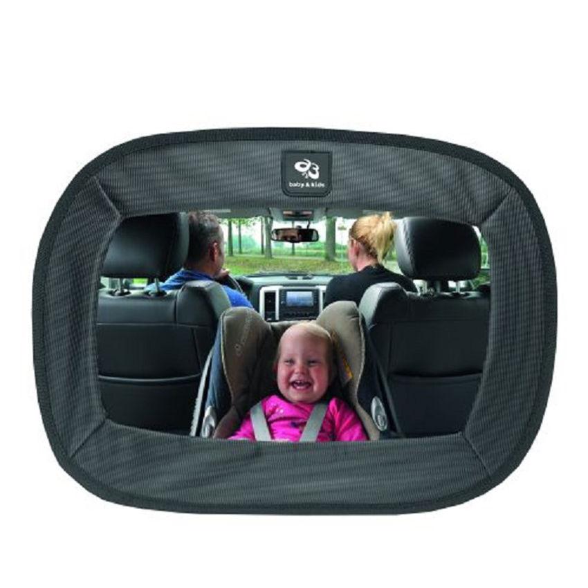 Afbeelding van A3 Baby & Kids extra grote autospiegel - zwart