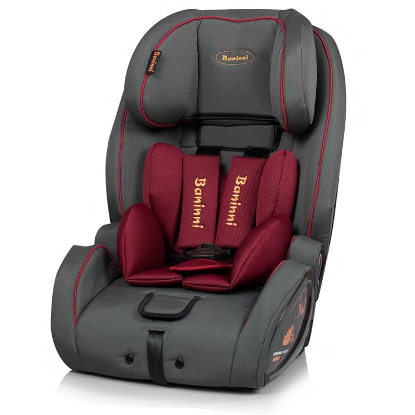 Afbeelding van Autostoel Baninni Arona Isofix Red-Gray (9-36kg)