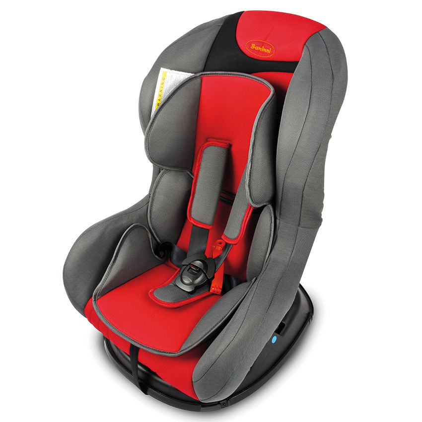 Afbeelding van Autostoel Baninni Eljas Red-Gray BN383 (9-18kg)