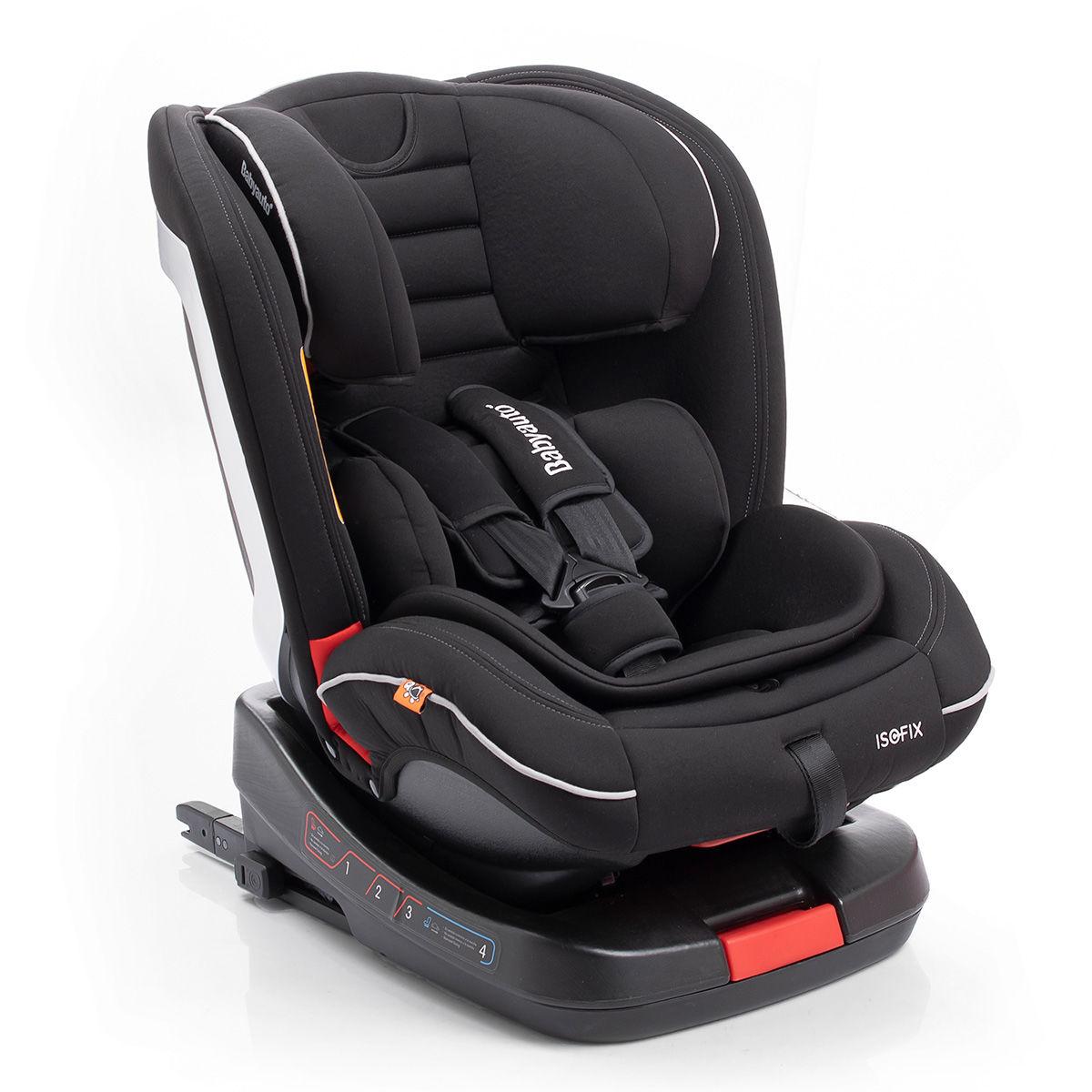 Afbeelding van Babyauto Unit Fix Autostoel met Isofix Black (0-36kg)