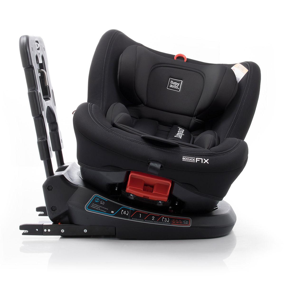 Afbeelding van Autostoel Babyauto Biro 360° met Isofix Black (0-25kg)