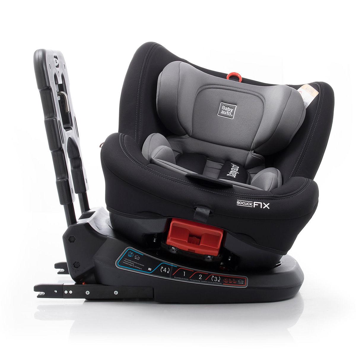 Afbeelding van Autostoel Babyauto Biro 360° met Isofix Grey (0-25kg)