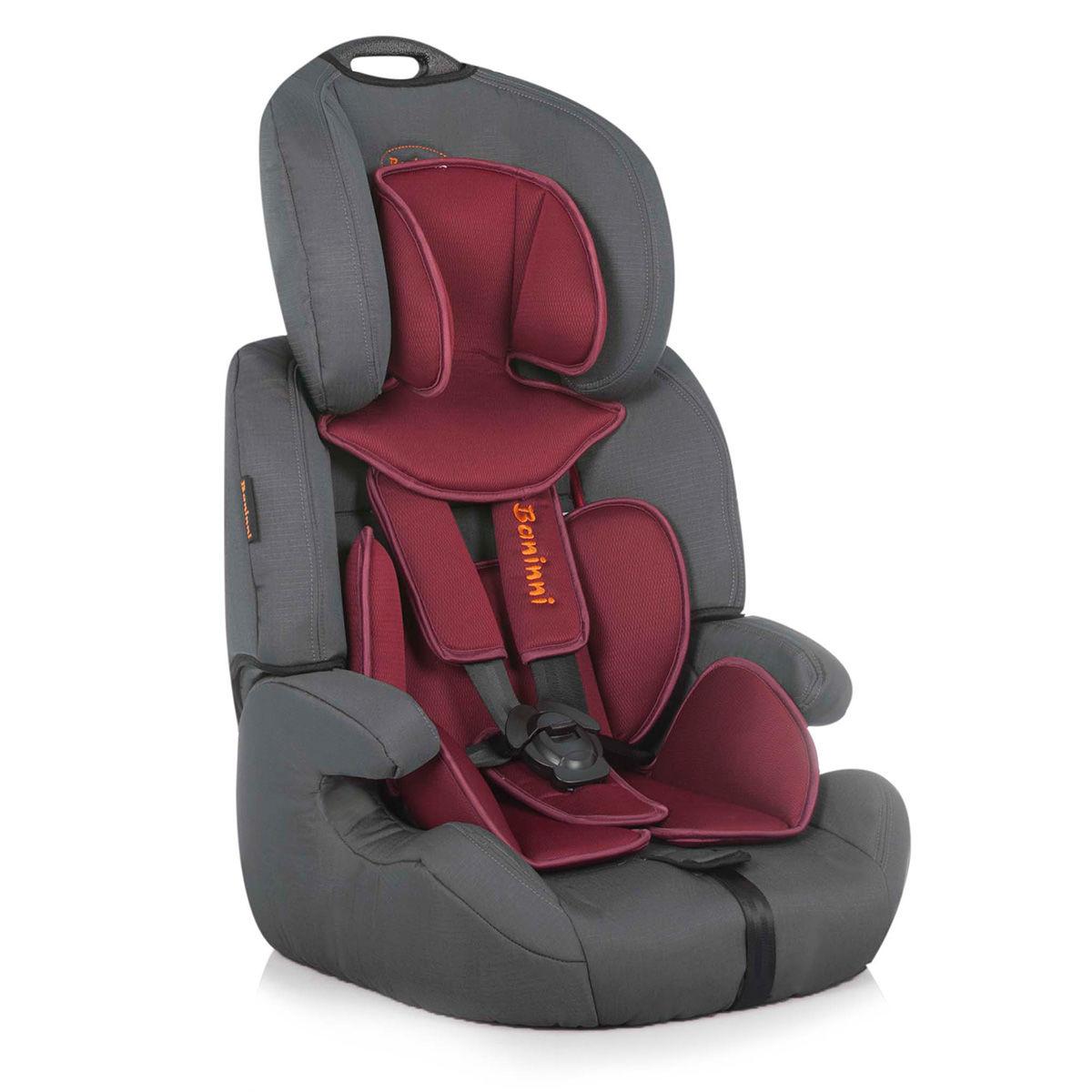 Afbeelding van Autostoel Baninni Pedro Red-Gray BN517 (9-36kg)