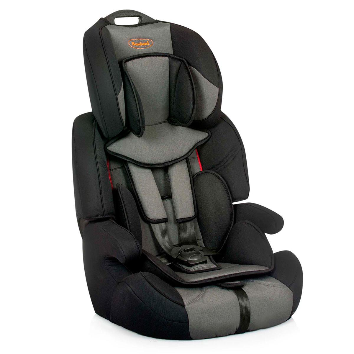Afbeelding van Autostoel Baninni Pedro Grijs-Zwart BN517 (9-36kg)