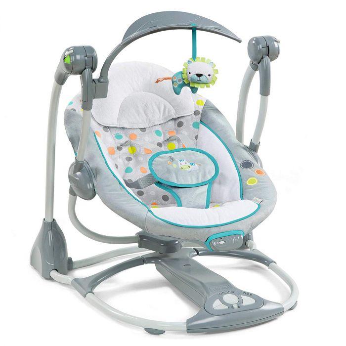 Automatische Wipstoel Baby.Ingenuity Convert Me Swing 2 Seat Ridgedale Baby Koter