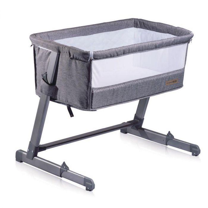 Baby Bed Wieg.Freeon Free To Me Co Sleeper Wieg Grijs Baby Koter