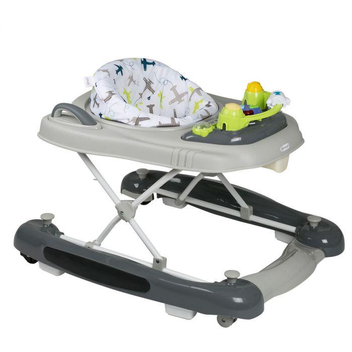 Loopstoel Babygo 4 In 1 Groen Met Schommel Duwfunctie Baby Koter