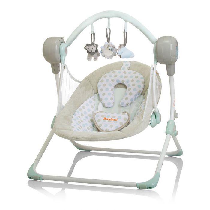 Automatische Schommel Baby.Baby Swing Baninni Stellino Mint Breeze Baby Koter