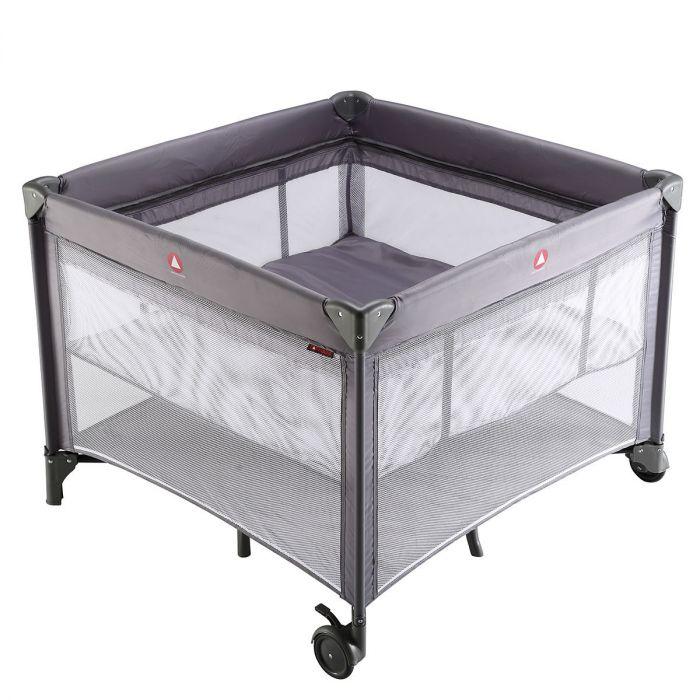 Makkelijk Inklapbaar Campingbedje.Campingbed En Box Inklapbaar Topmark Parker Grey Baby Koter