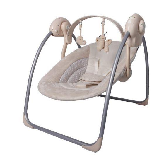 Baby Schommelstoel Automatisch.Baby Swing Schommel X Adventure Beige Baby Koter