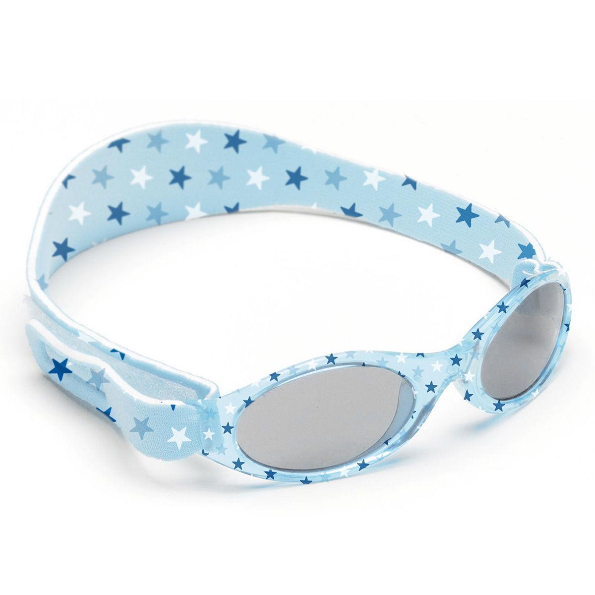Afbeelding van Dooky BabyBanz Zonnebril (0-2 jaar) Blue Stars