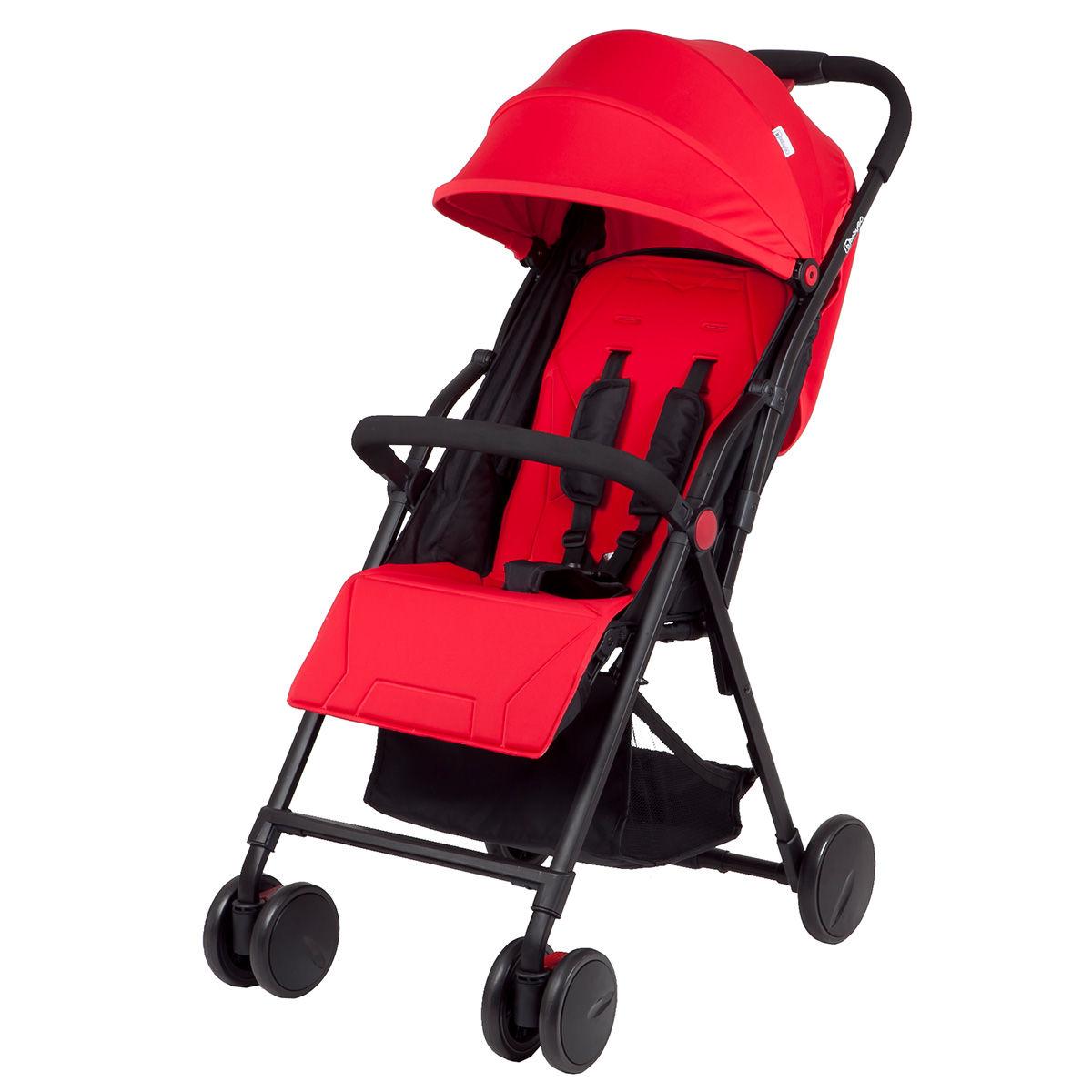 Afbeelding van BabyGO Air Rood Multi standen wandelwagen