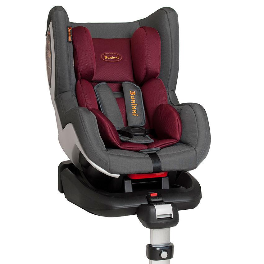 Afbeelding van Autostoel Baninni Impero Isofix Red-Gray (0-18kg)