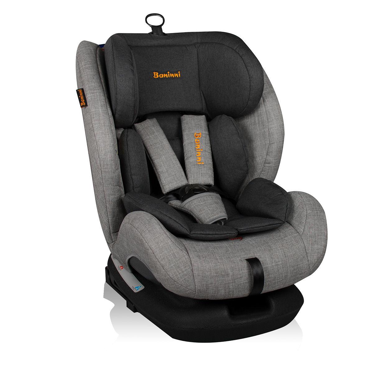 Afbeelding van Autostoel Baninni Indigo met Isofix Black Mist (0-36kg)