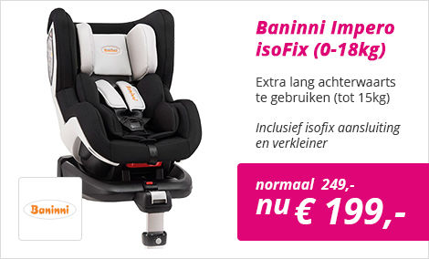 Baninni Impero isoFix autostoel