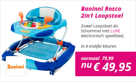 Loopstoel en Schommel in 1 Rosco