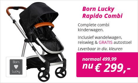 Born Lucky Rapido kinderwagen