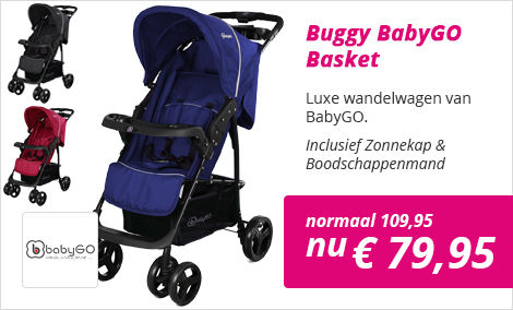 BabyGO Basket wandelwagen
