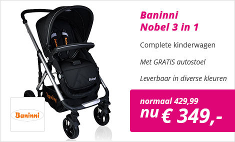 Baninni Nobel 3 in 1 kinderwagen
