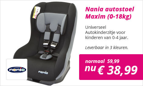 Autostoel Nania Maxim SP