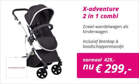 Xadventure combi kinderwagen 2 in 1