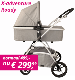 X-adventure Roady combi kinderwagen