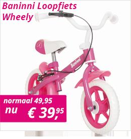 Baninni Loopfiets Wheely