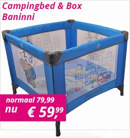 Campingbed & Box Baninni